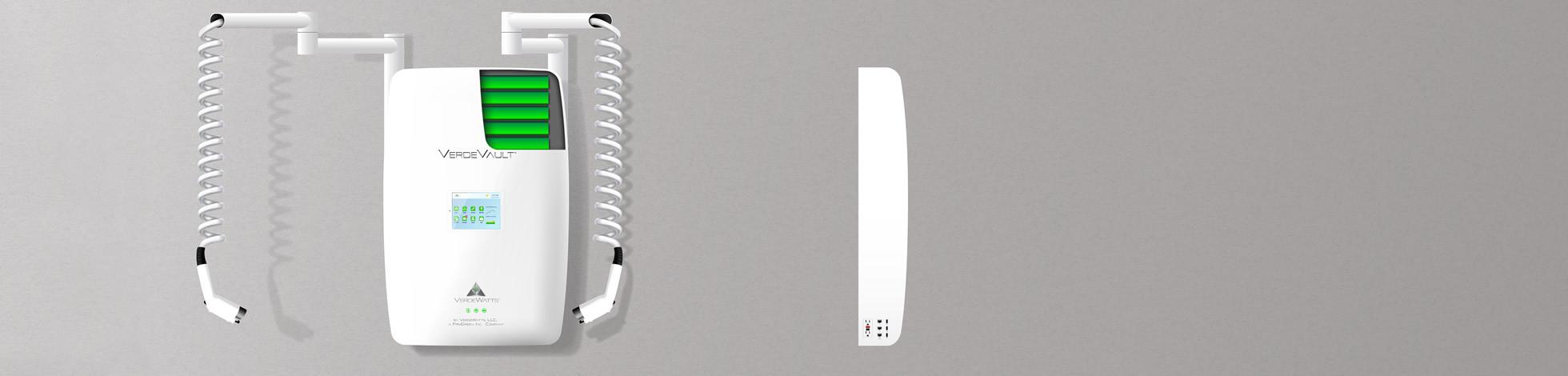 VerdeVault™ cutaway view & side view